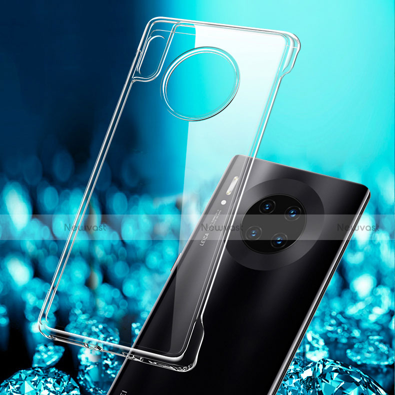 Ultra-thin Transparent TPU Soft Case T03 for Huawei Mate 30 Pro 5G Clear