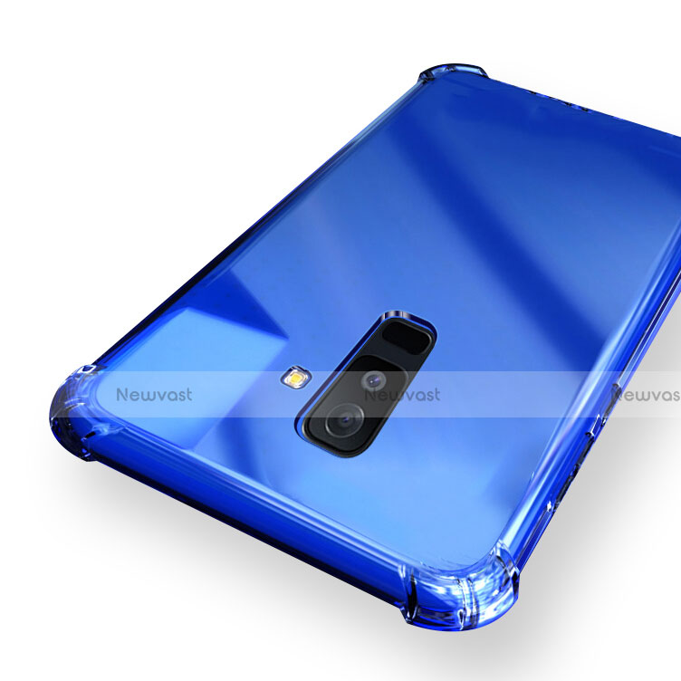Ultra-thin Transparent TPU Soft Case T03 for Samsung Galaxy A6 Plus Clear