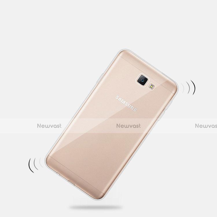 Ultra-thin Transparent TPU Soft Case T03 for Samsung Galaxy A8 (2016) A8100 A810F Clear