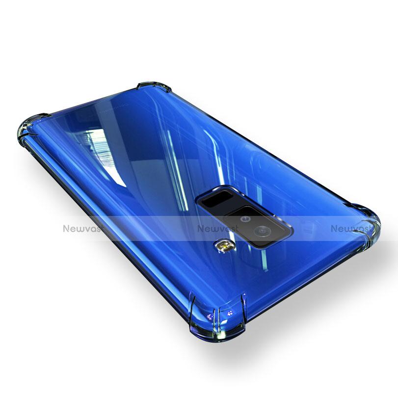 Ultra-thin Transparent TPU Soft Case T03 for Samsung Galaxy A9 Star Lite Clear