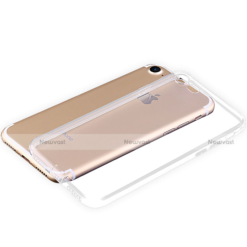 Ultra-thin Transparent TPU Soft Case T04 for Apple iPhone SE (2020) Clear