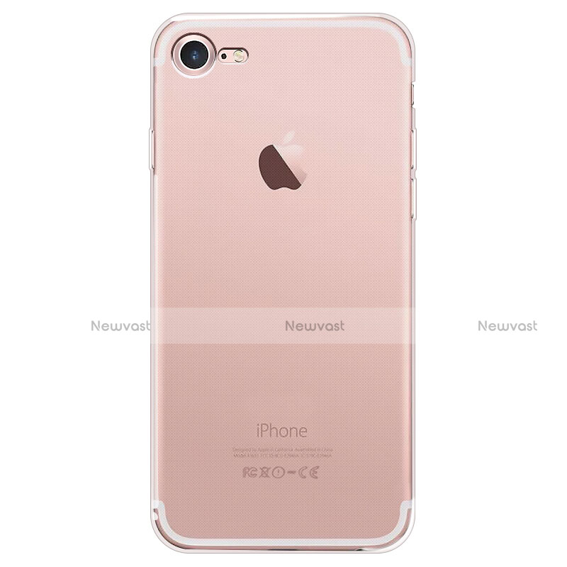 Ultra-thin Transparent TPU Soft Case T05 for Apple iPhone SE (2020) Clear