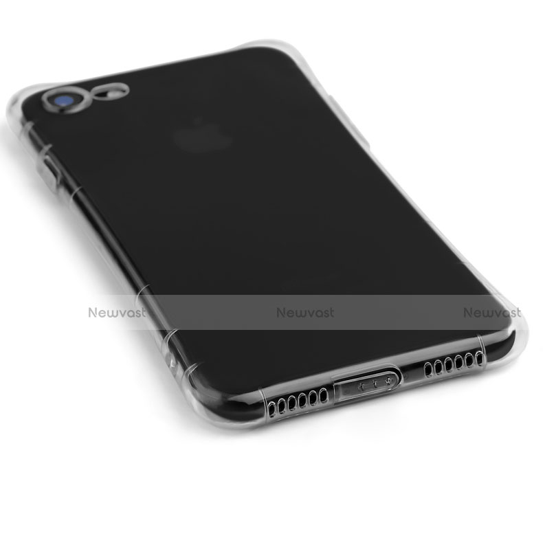 Ultra-thin Transparent TPU Soft Case T11 for Apple iPhone SE (2020) Clear