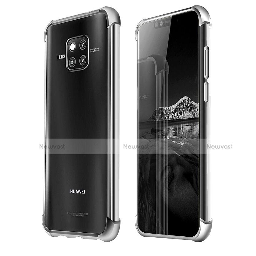 Ultra-thin Transparent TPU Soft Case U03 for Huawei Mate 20 Pro Clear