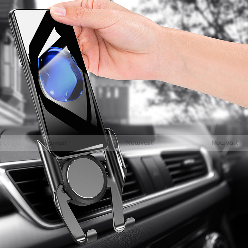 Universal Car Air Vent Mount Cell Phone Holder Stand A06 Black