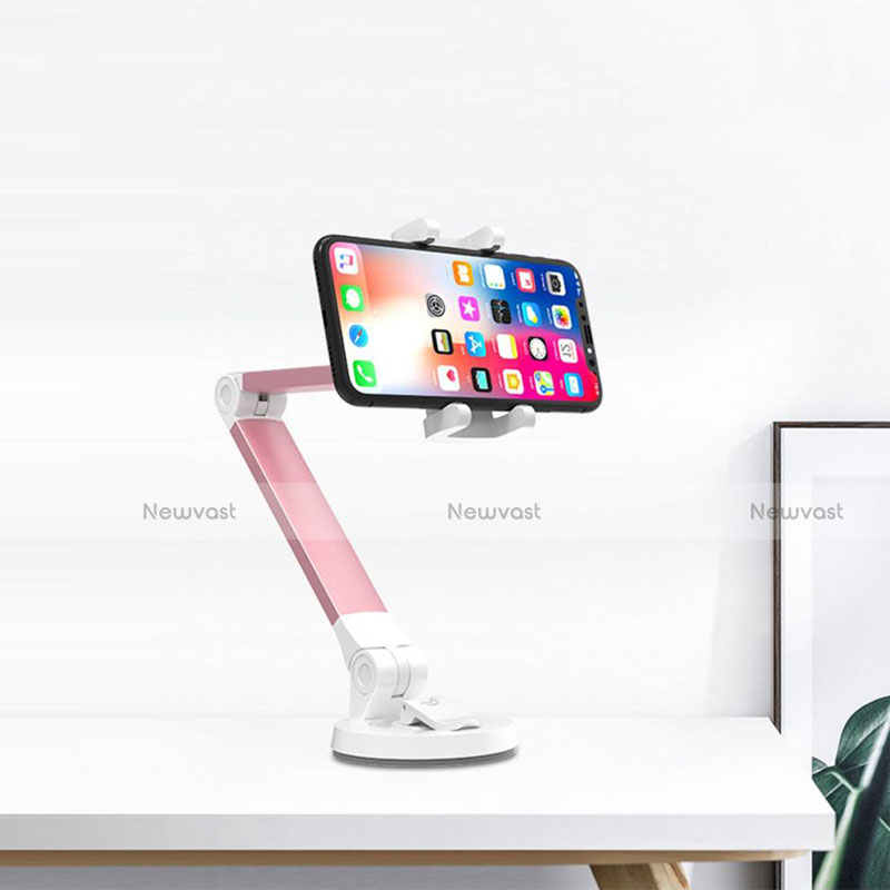 Universal Cell Phone Stand Smartphone Holder for Desk K33 Pink