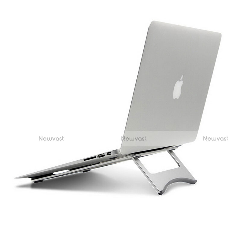 Universal Laptop Stand Notebook Holder for Apple MacBook 12 inch Silver