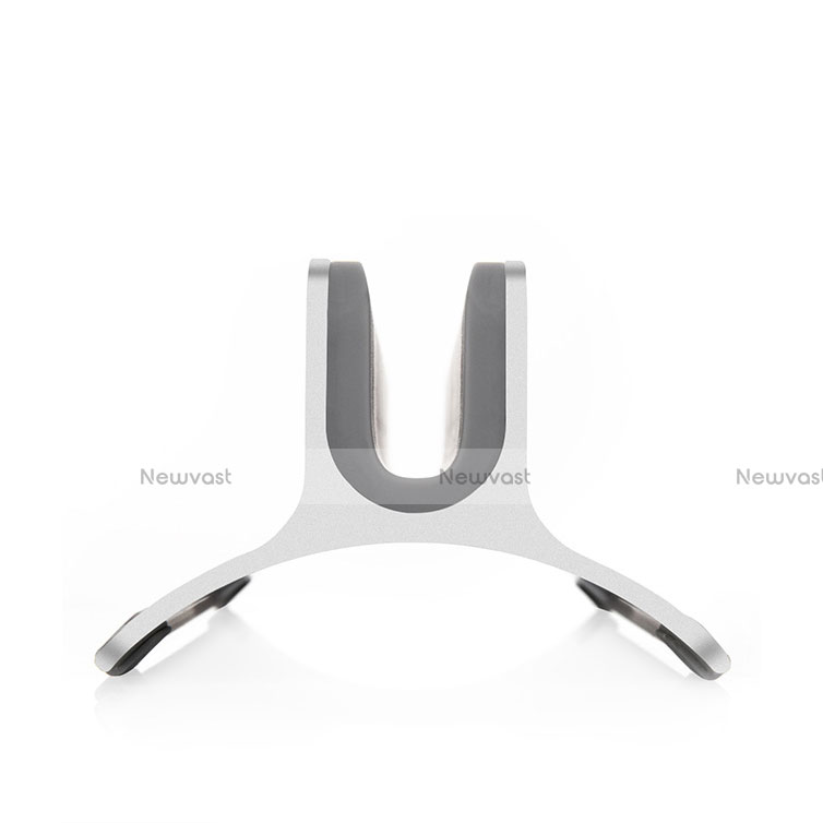 Universal Laptop Stand Notebook Holder S01 for Apple MacBook 12 inch Silver
