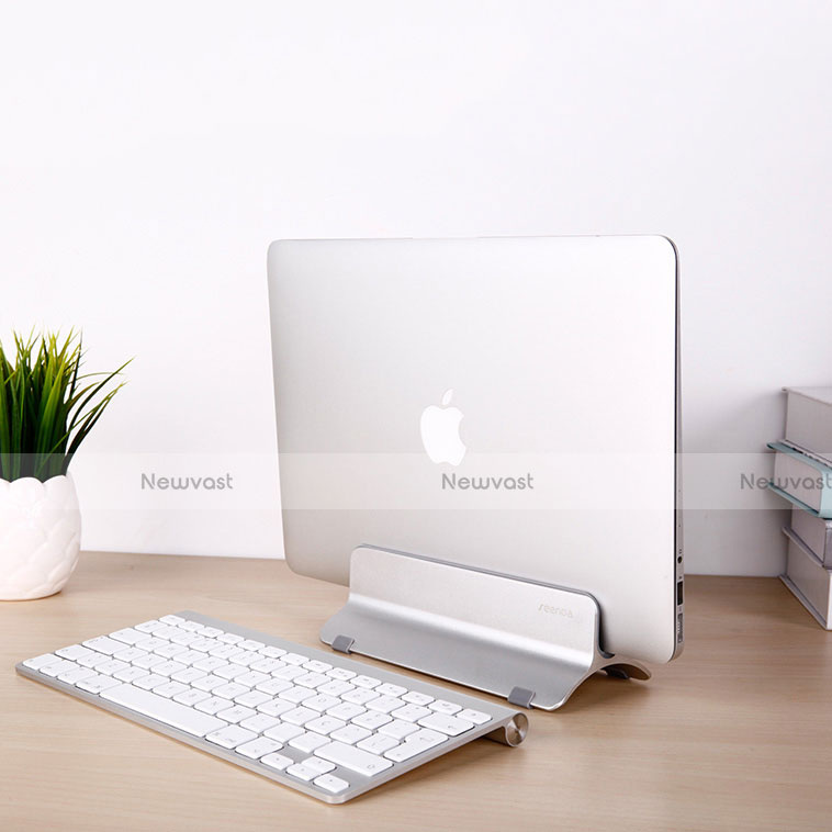 Universal Laptop Stand Notebook Holder S01 for Apple MacBook Air 11 inch Silver