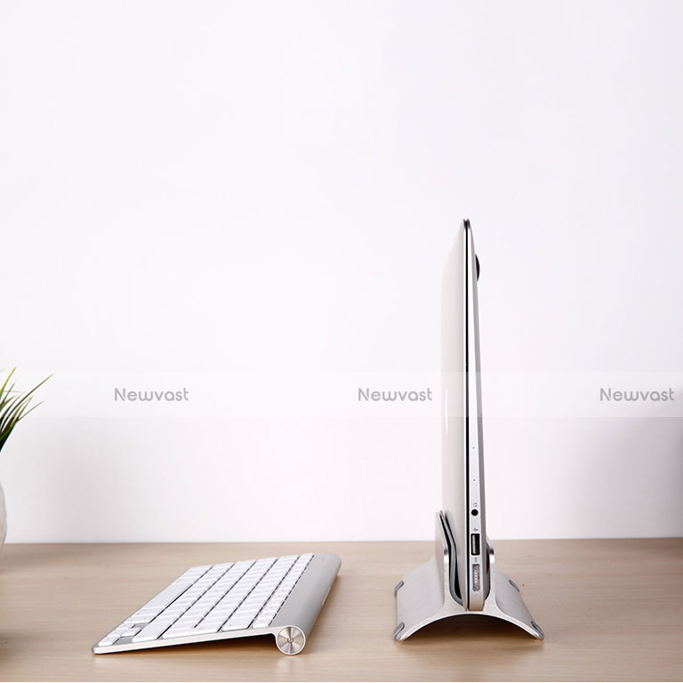 Universal Laptop Stand Notebook Holder S01 for Apple MacBook Pro 13 inch Retina Silver