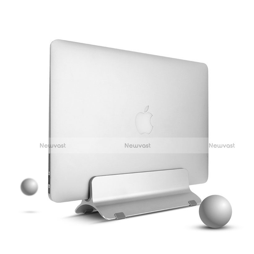 Universal Laptop Stand Notebook Holder S01 for Apple MacBook Pro 13 inch Silver