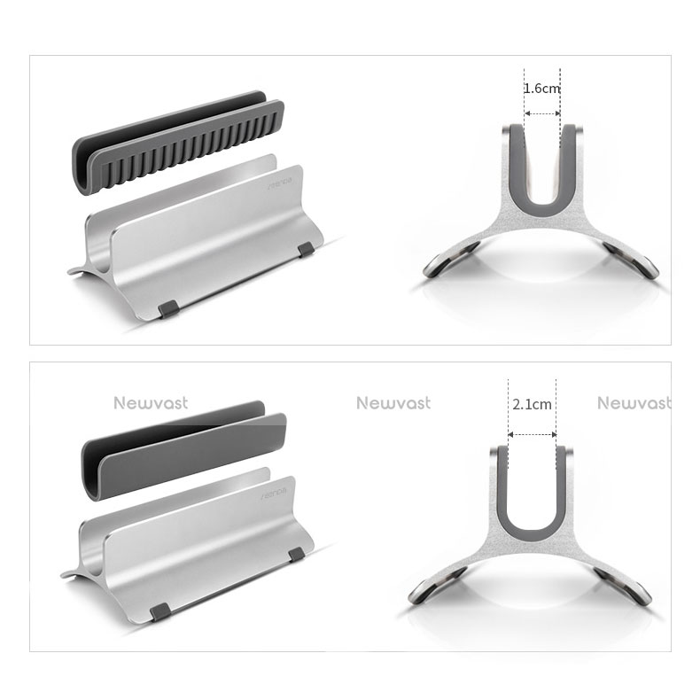 Universal Laptop Stand Notebook Holder S01 for Apple MacBook Pro 15 inch Silver