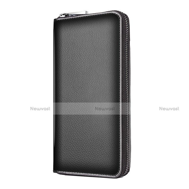 Universal Leather Wristlet Wallet Handbag Case K18