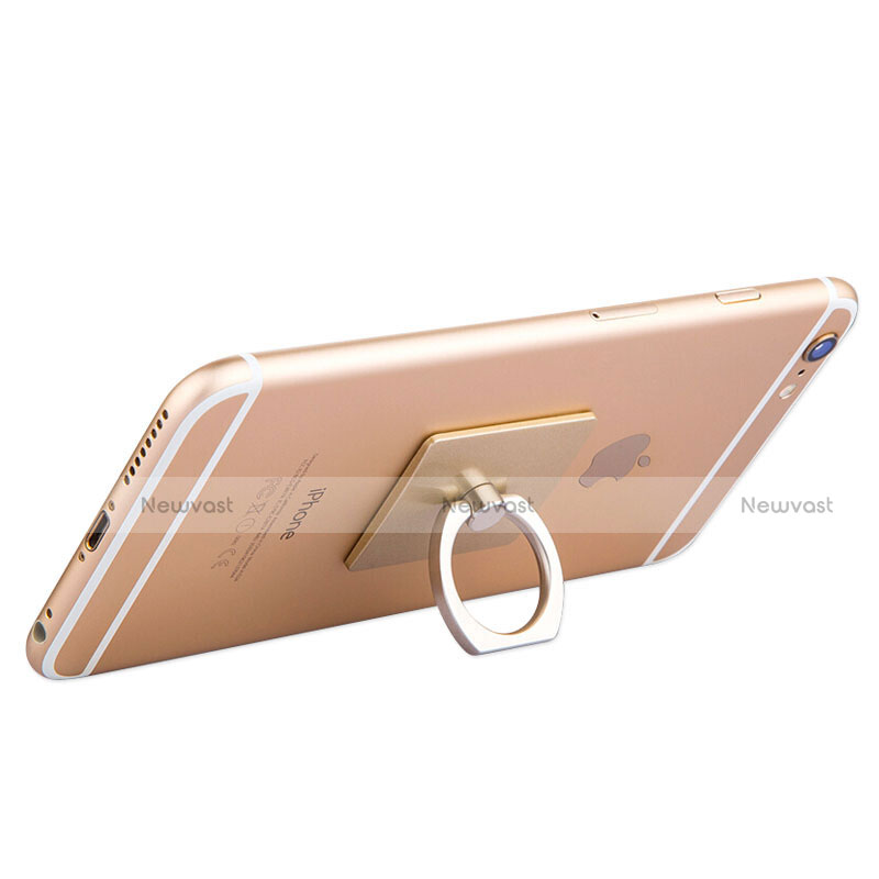 Universal Mobile Phone Finger Ring Stand Holder Z01 Gold