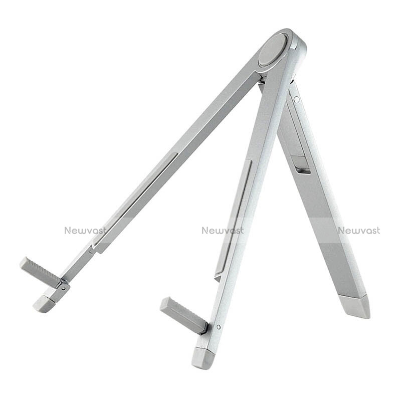 Universal Tablet Stand Mount Holder for Apple iPad 2 Silver