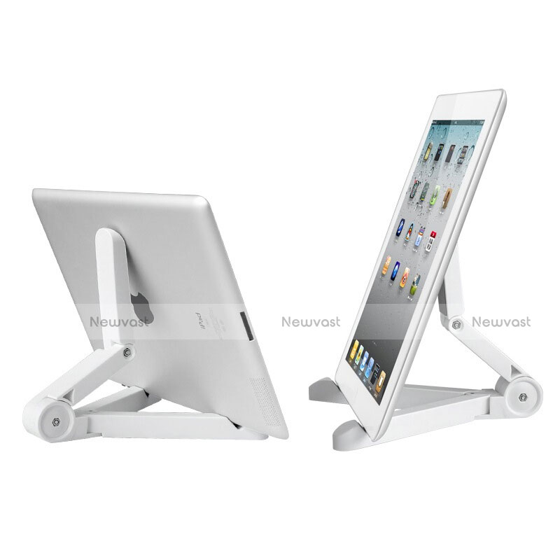 Universal Tablet Stand Mount Holder T23 for Apple iPad 2 White
