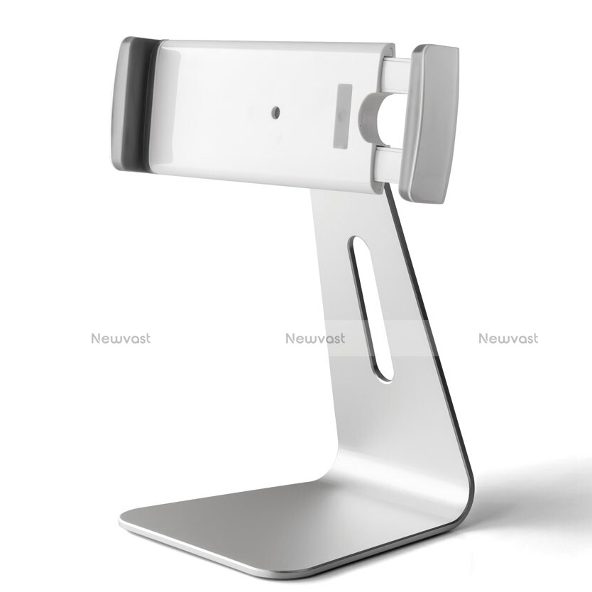 Universal Tablet Stand Mount Holder T24 for Apple iPad 4 Silver
