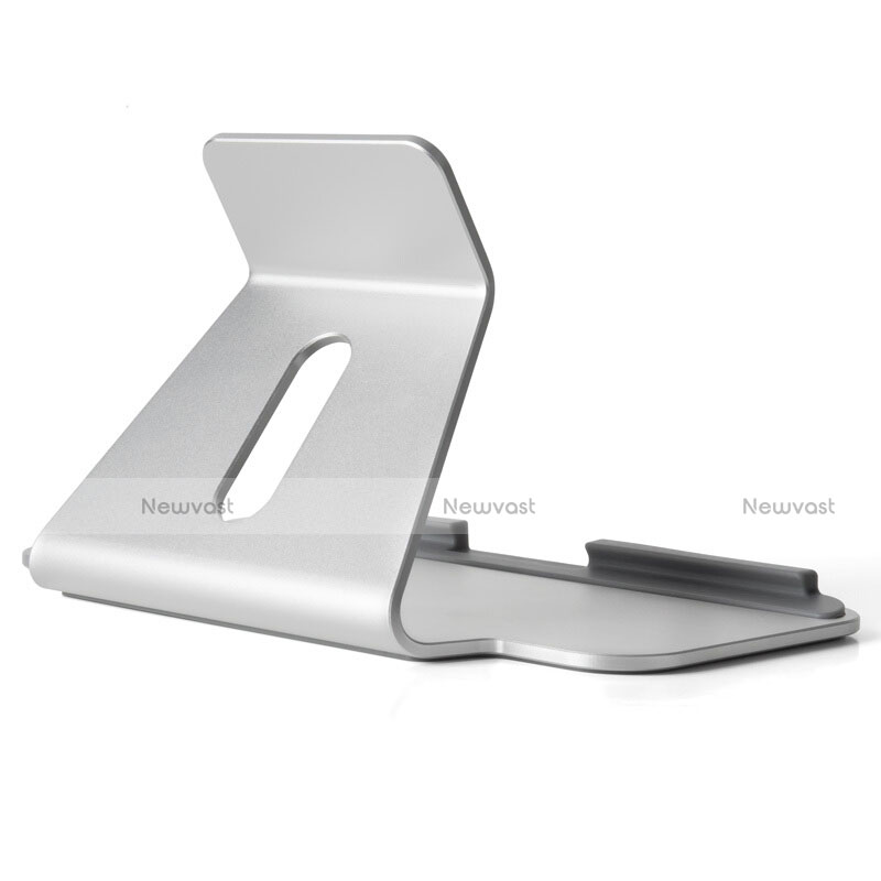 Universal Tablet Stand Mount Holder T25 for Apple iPad 2 Silver