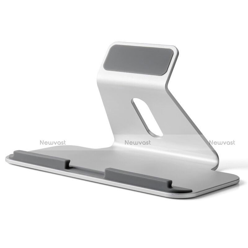 Universal Tablet Stand Mount Holder T25 for Apple iPad 4 Silver