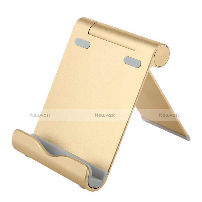 Universal Tablet Stand Mount Holder T27 for Apple iPad 2 Gold