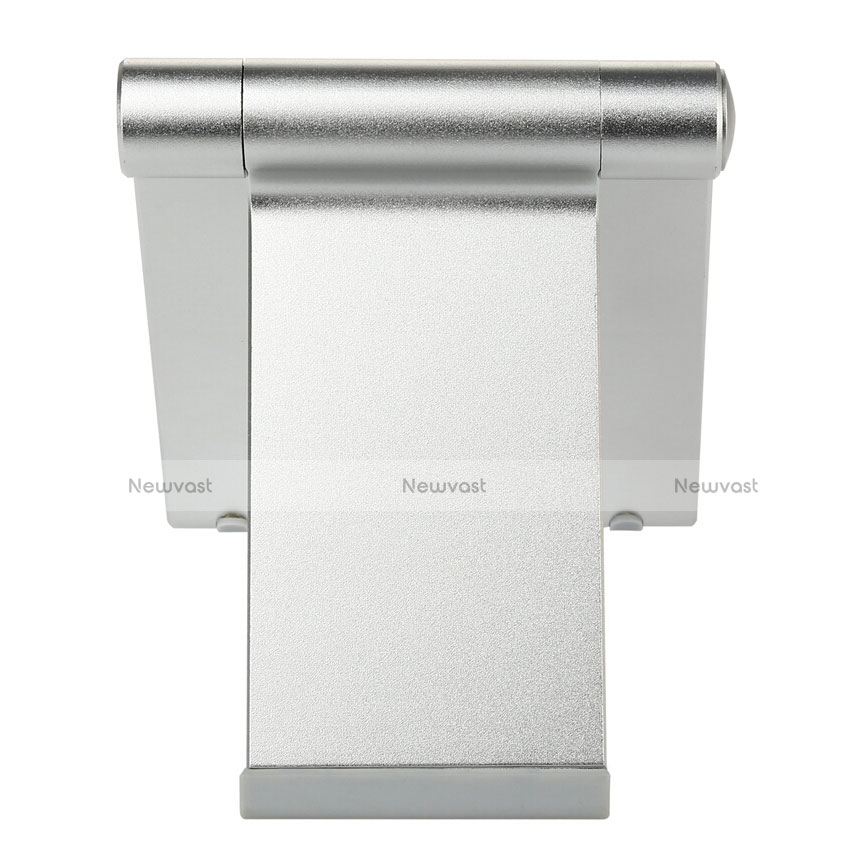 Universal Tablet Stand Mount Holder T27 for Apple iPad 3 Silver