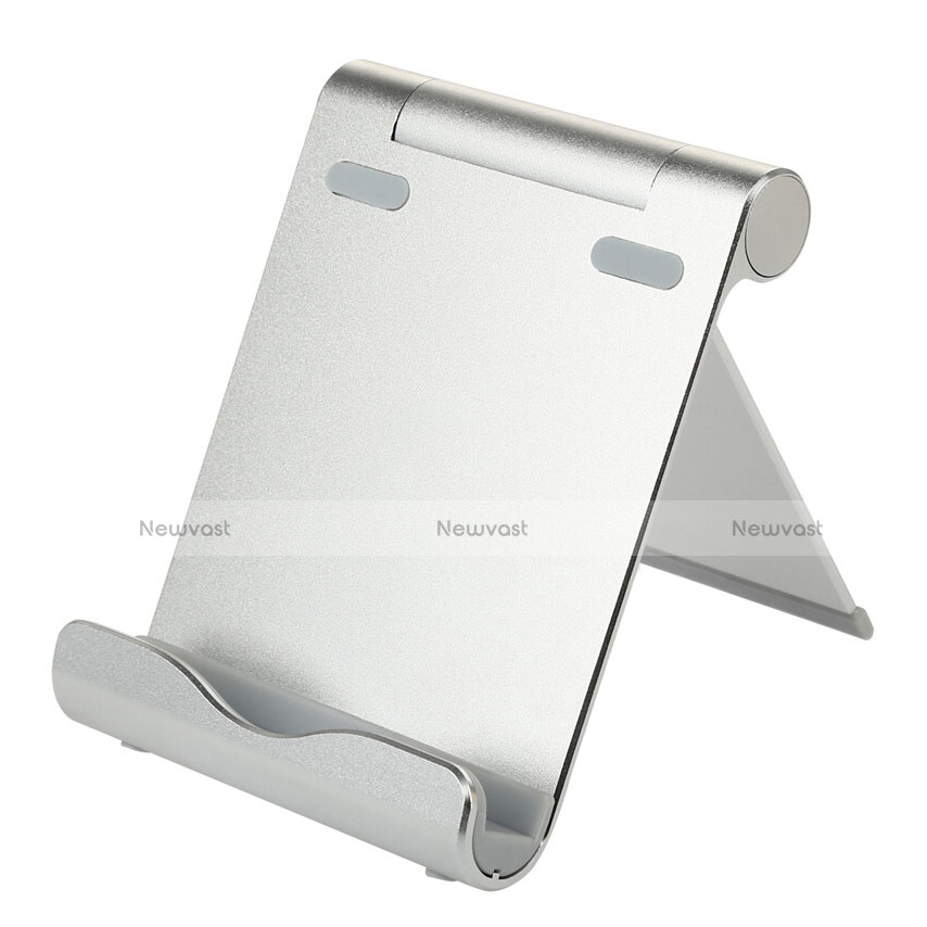 Universal Tablet Stand Mount Holder T27 for Apple iPad 4 Silver