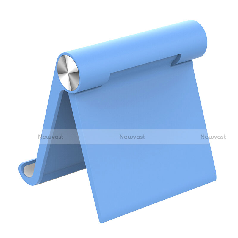 Universal Tablet Stand Mount Holder T28 for Apple iPad 2 Sky Blue