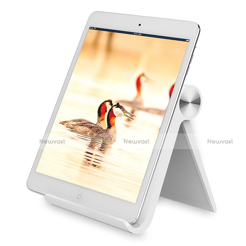 Universal Tablet Stand Mount Holder T28 for Apple iPad 2 White