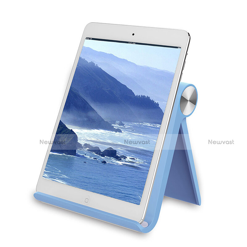 Universal Tablet Stand Mount Holder T28 for Apple iPad 3 Sky Blue