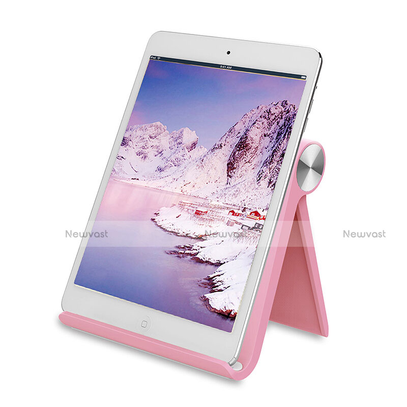 Universal Tablet Stand Mount Holder T28 for Apple iPad 4 Pink