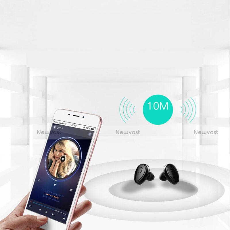 Wireless Bluetooth Sports Stereo Earphone Headset H45 Black